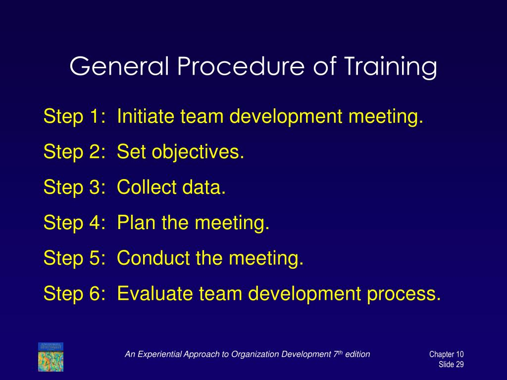 General Procedure of Training