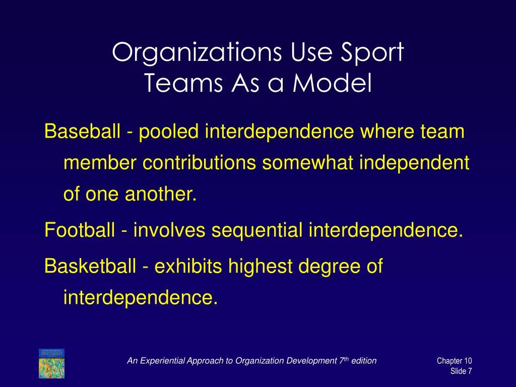 Organizations Use Sport