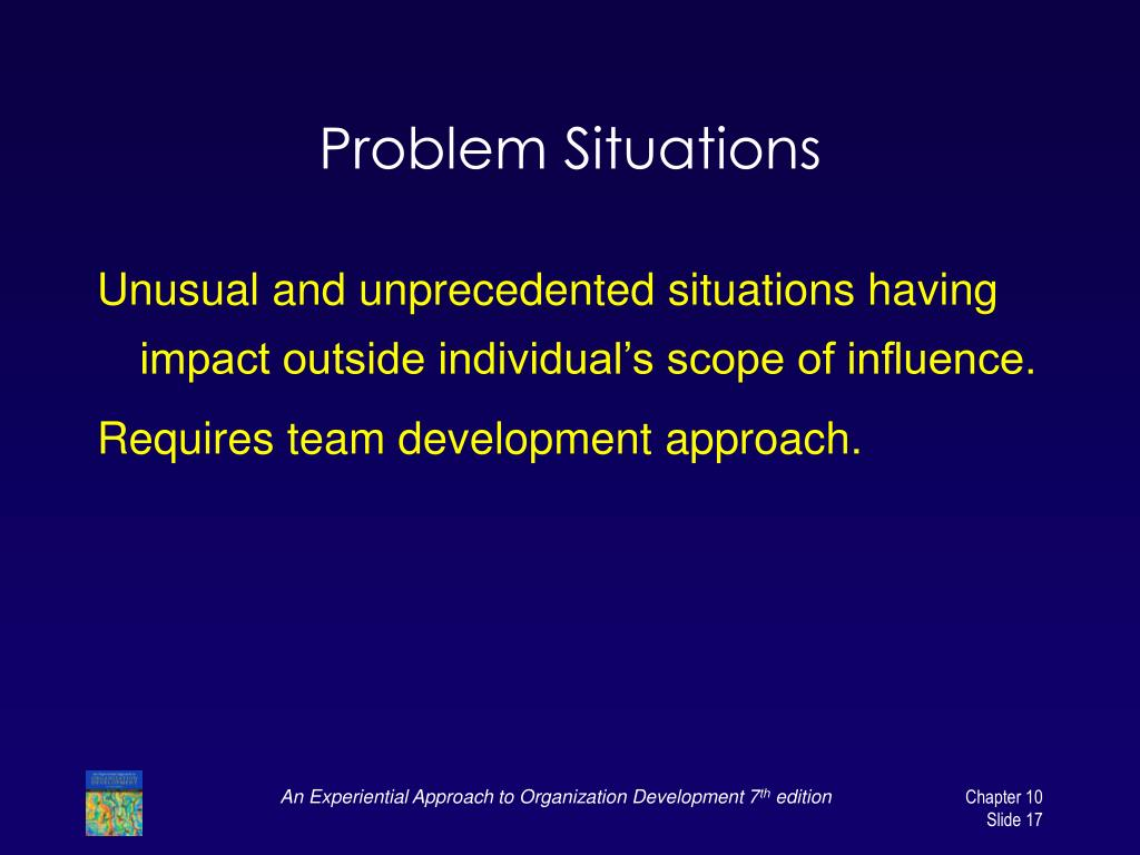 Problem Situations