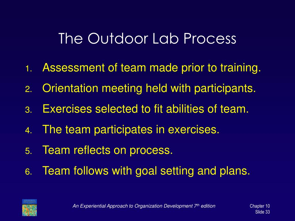 The Outdoor Lab Process
