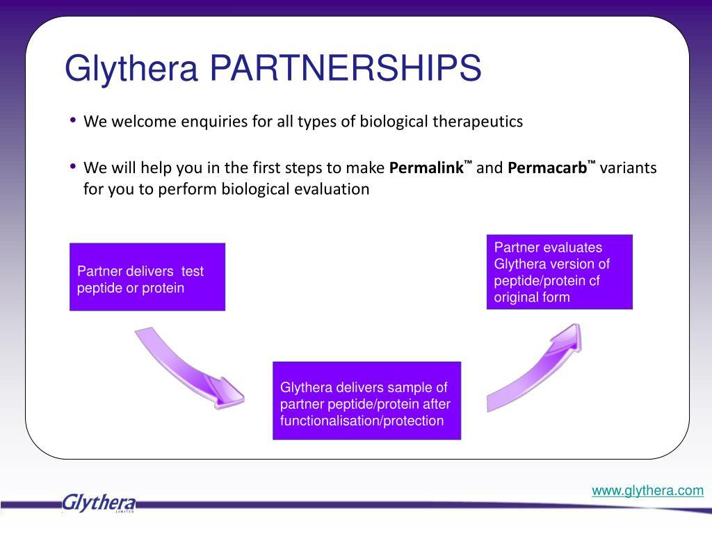 Glythera PARTNERSHIPS