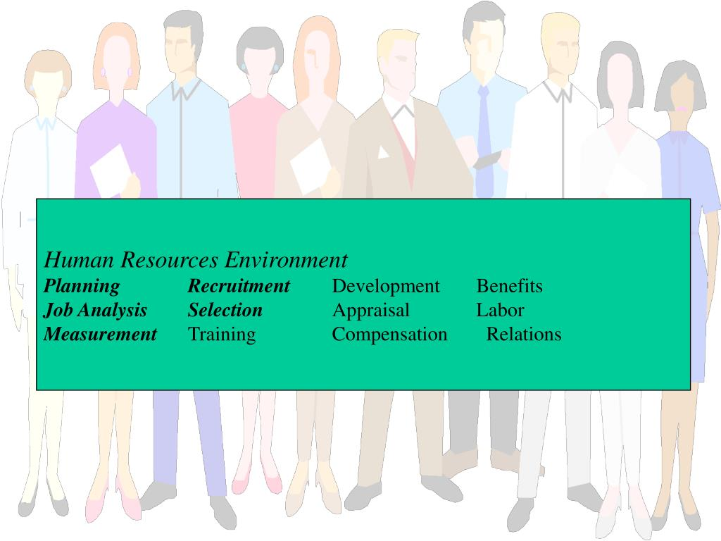 Human Resources Environment