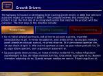 growth drivers15