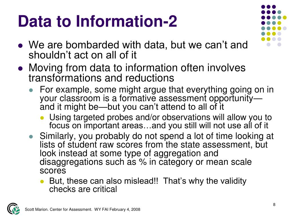 Data to Information-2