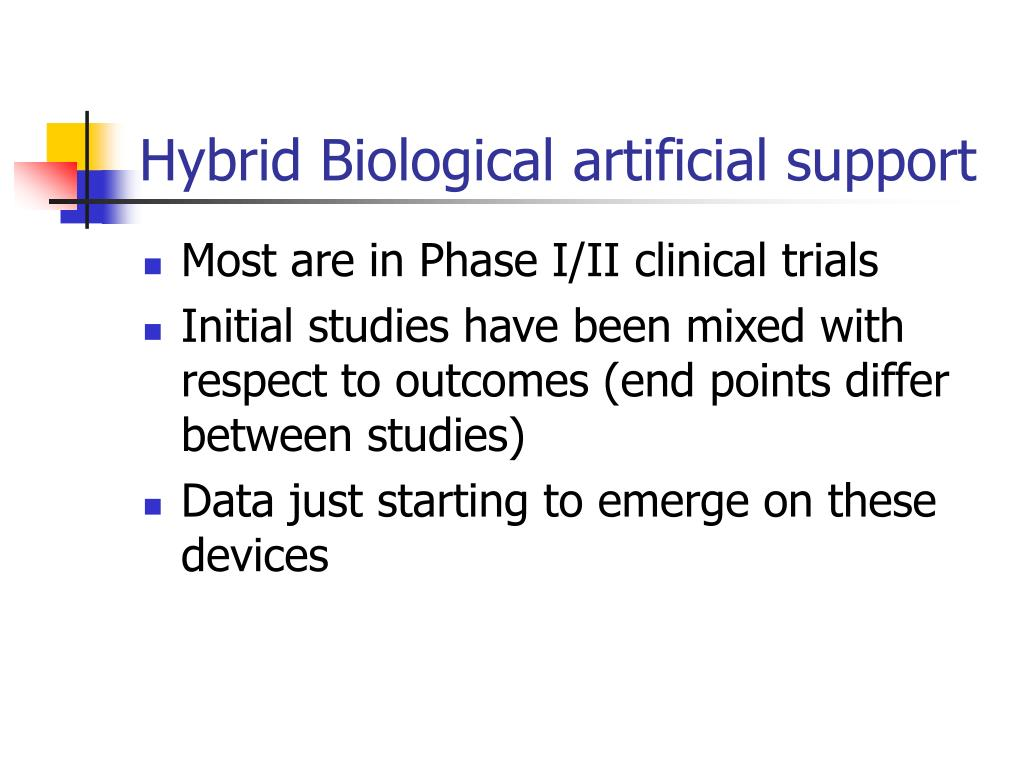 Hybrid Biological artificial support