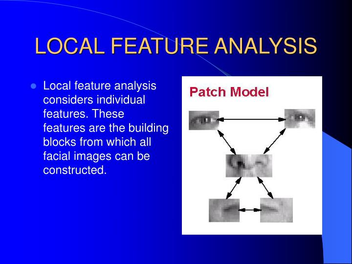 LOCAL FEATURE ANALYSIS