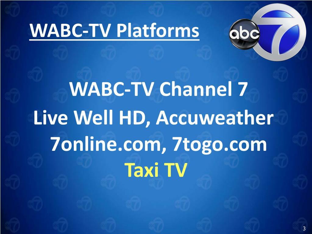 WABC-TV Platforms