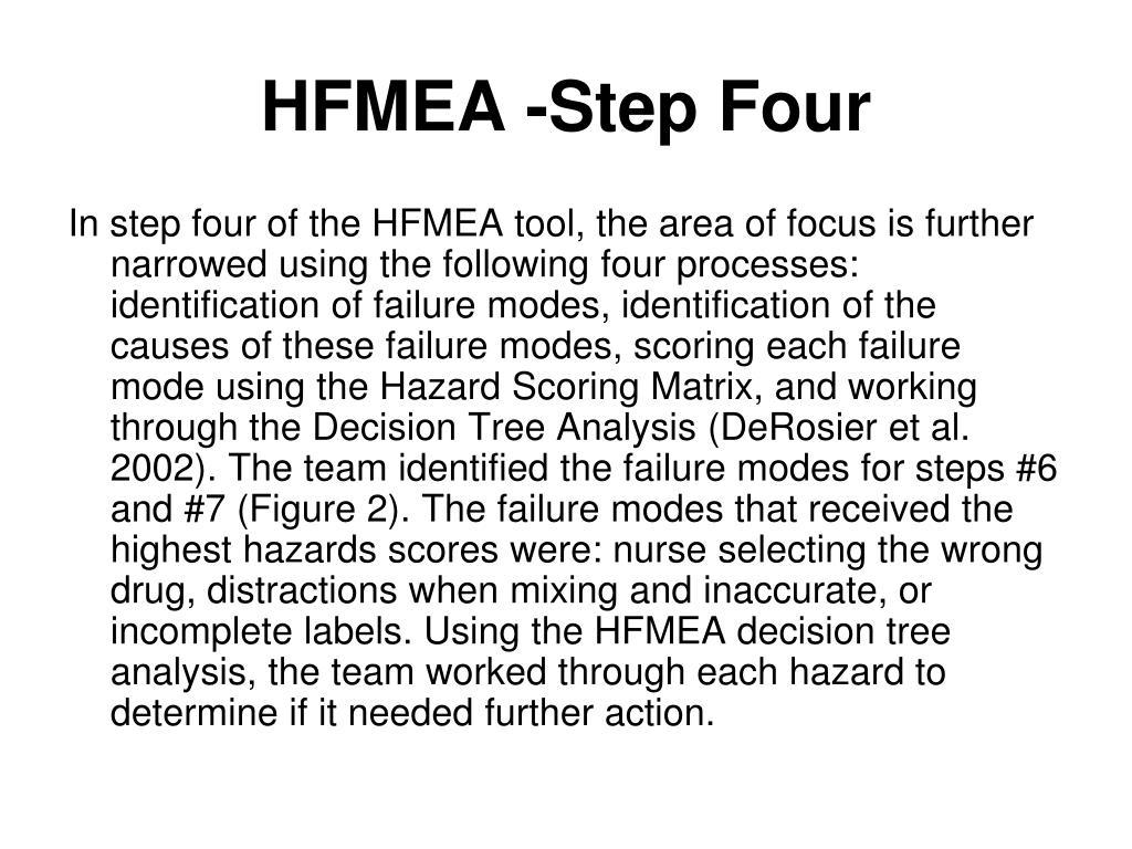 HFMEA -Step Four