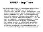 hfmea step three