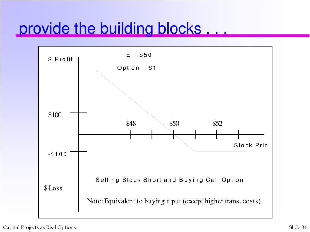 provide the building blocks . . .