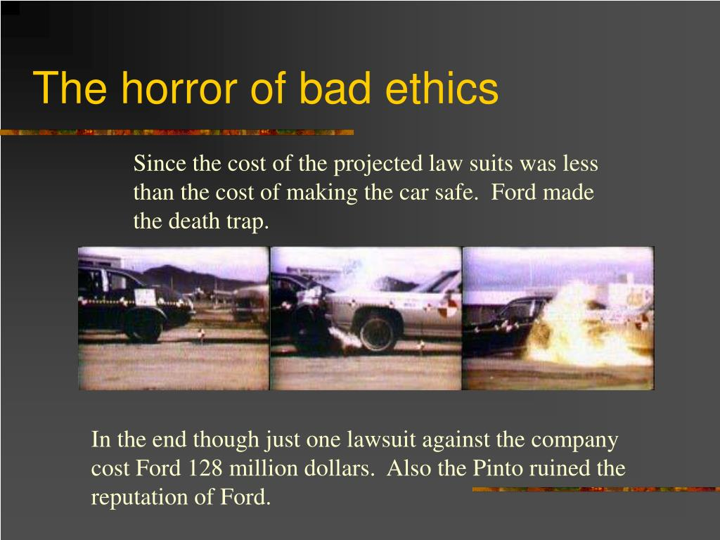 The horror of bad ethics