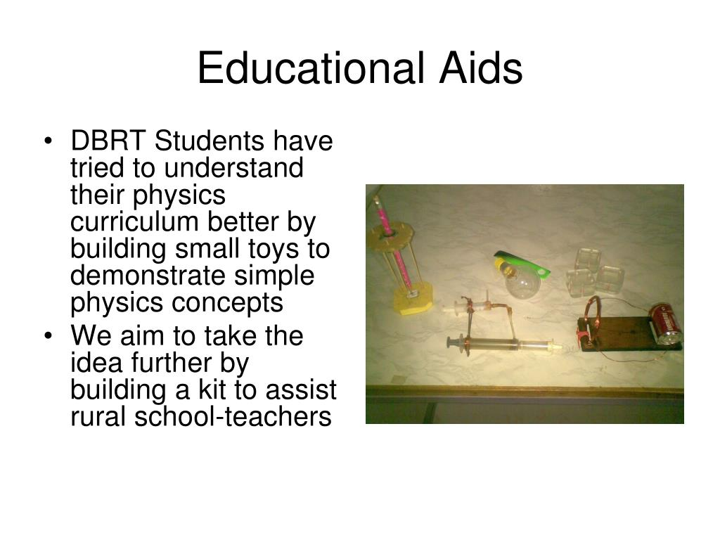 Educational Aids