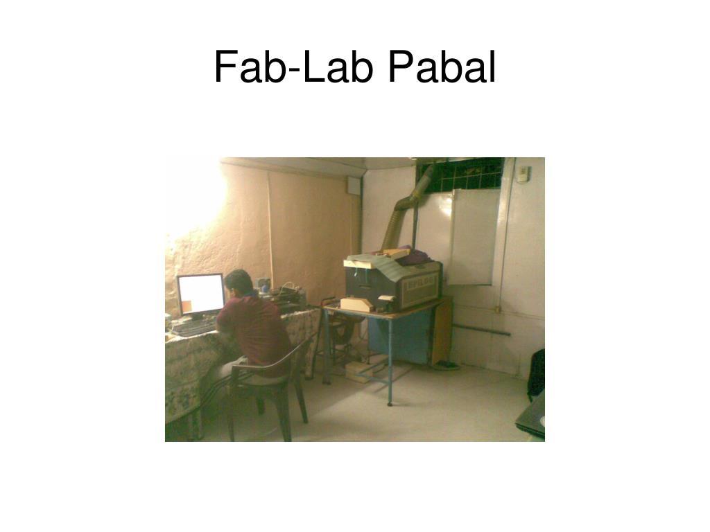 Fab-Lab Pabal