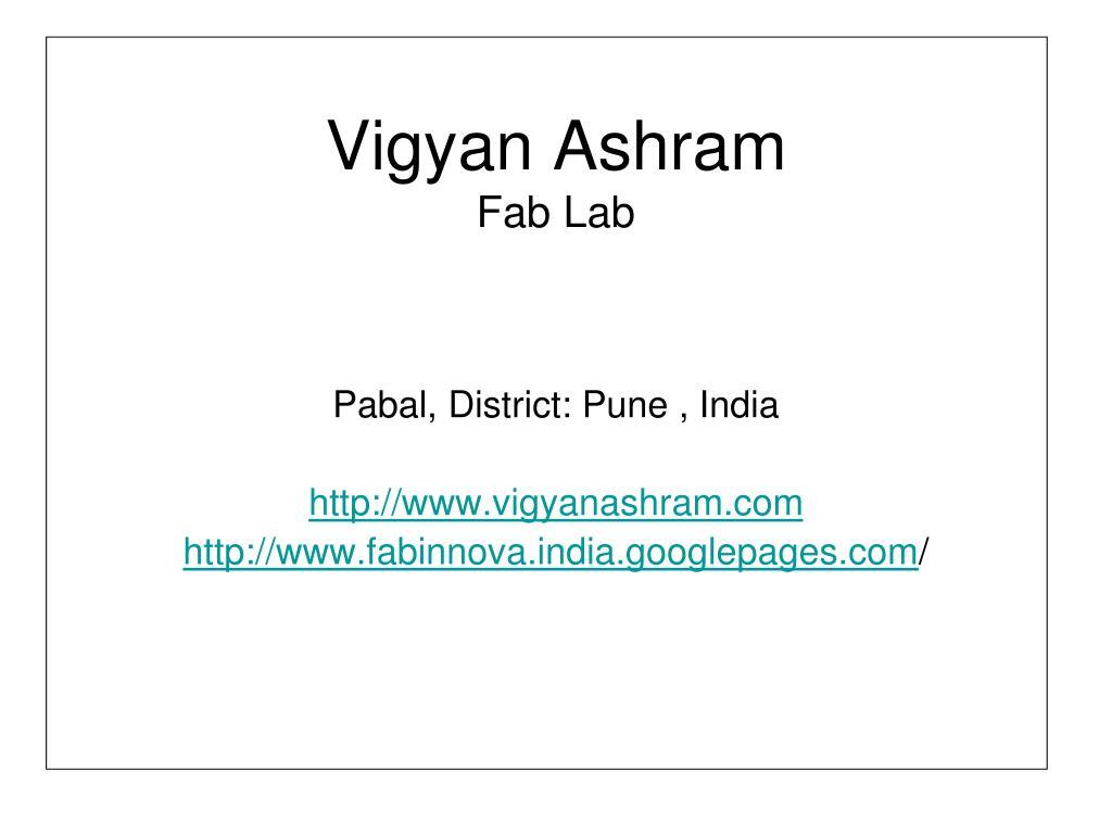 Vigyan Ashram