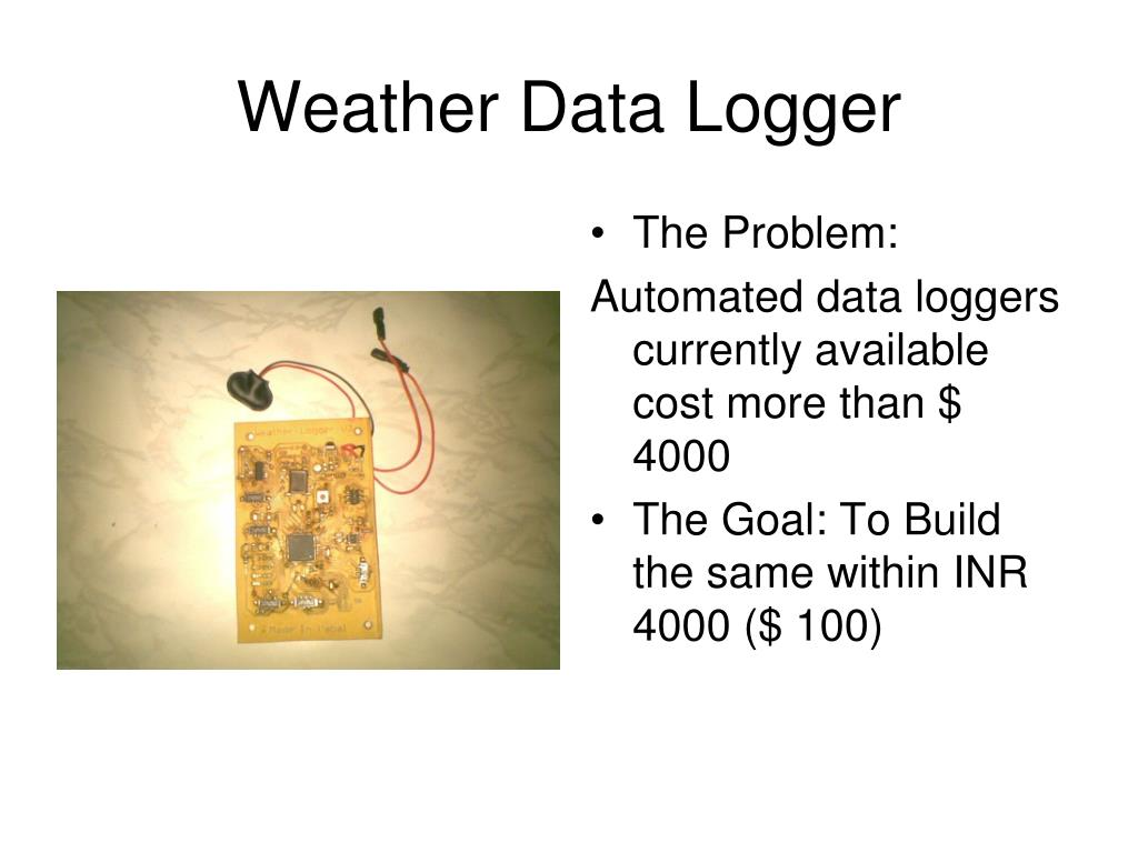 Weather Data Logger