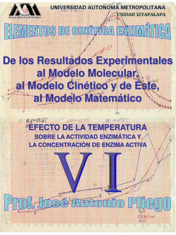 ELEMENTOS DE CINÉTICA ENZIMÁTICA