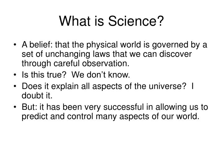 What is science l.jpg