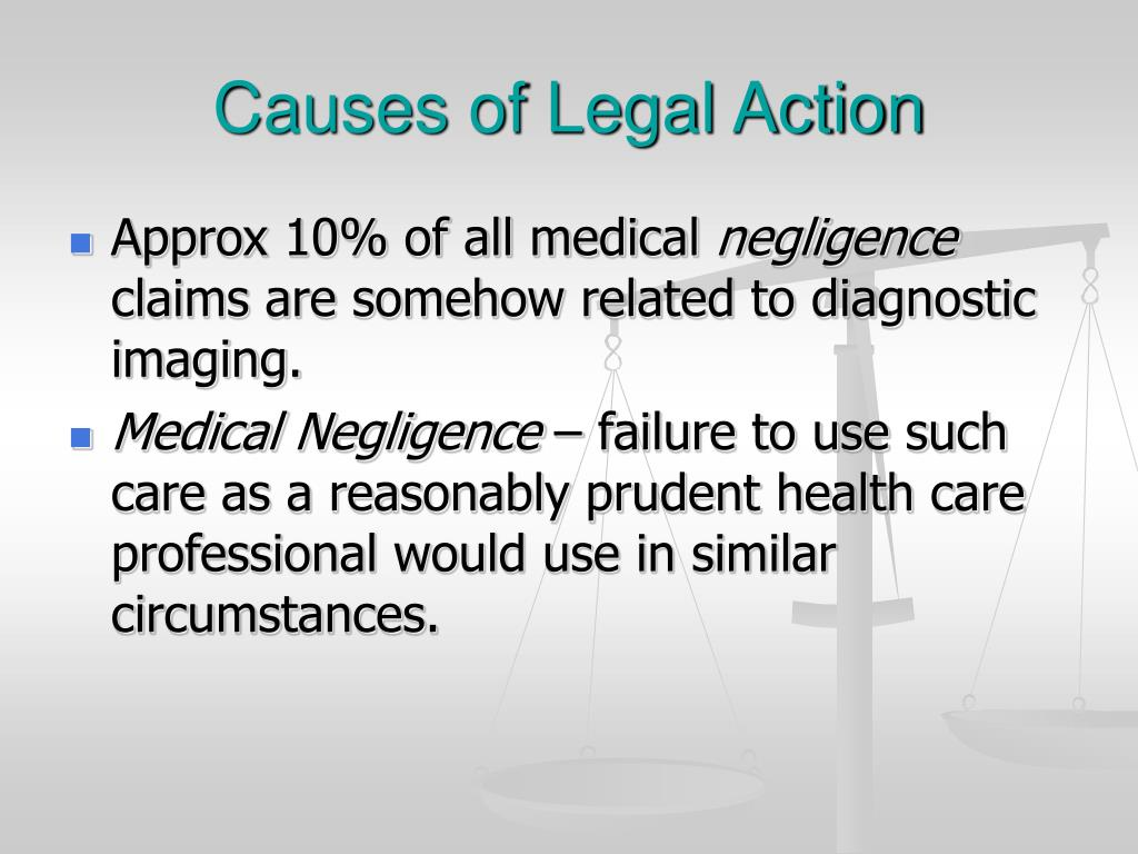 Causes of Legal Action