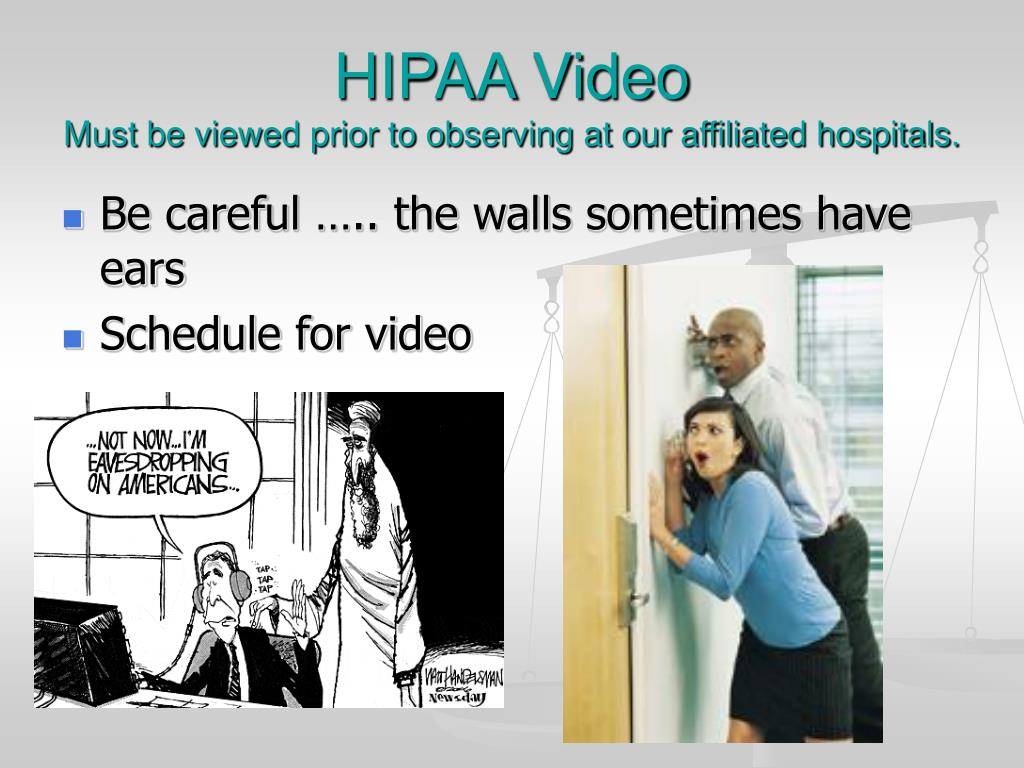 HIPAA Video