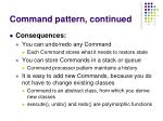 command pattern continued33
