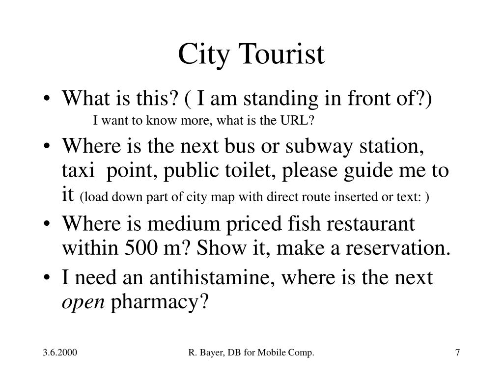 City Tourist