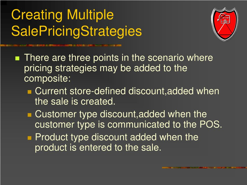 Creating Multiple SalePricingStrategies