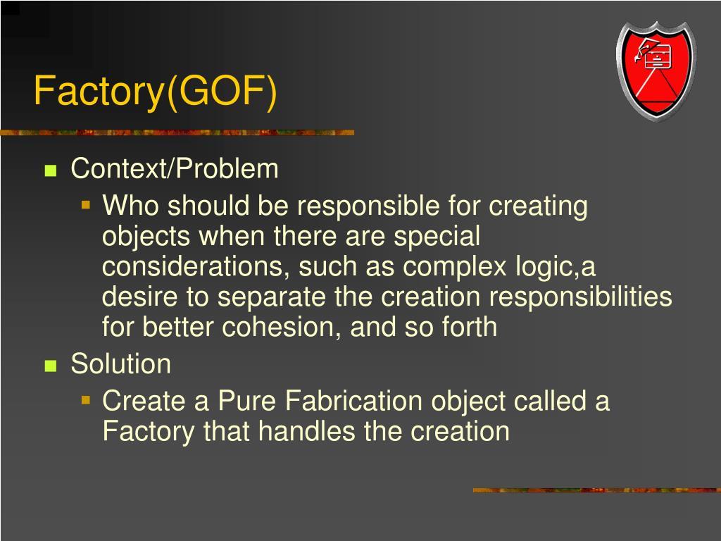 Factory(GOF)