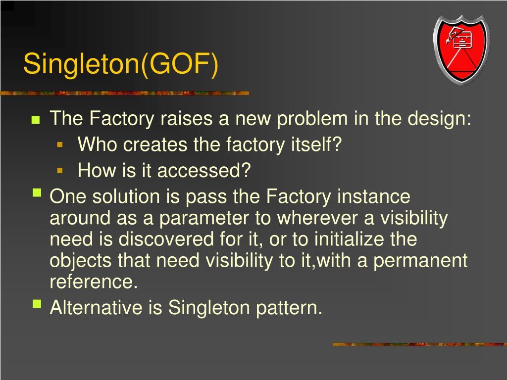 Singleton(GOF)