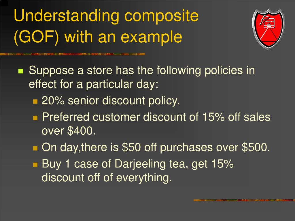 Understanding composite (GOF) with an example