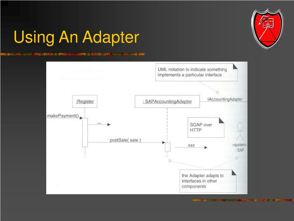 Using An Adapter