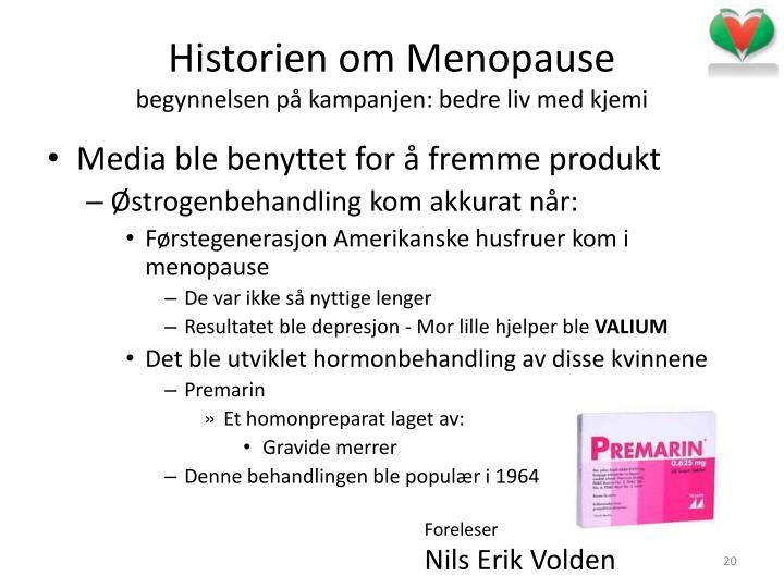 Historien om Menopause