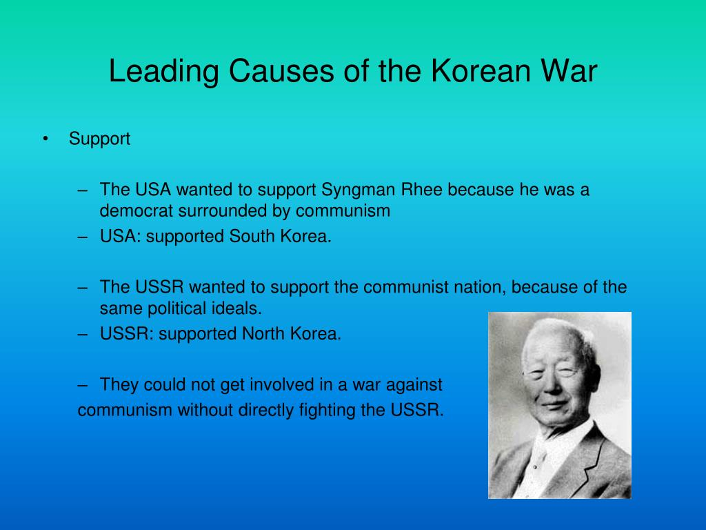 reasons for korean war Citation: c n trueman the korean war historylearningsitecouk the history learning site, 25 may 2015 4 may 2018 un gained respect by taking prompt and direct action used combined force to stop aggression achieved joint action by members 17,000 casualties conduct of war almost entirely by.