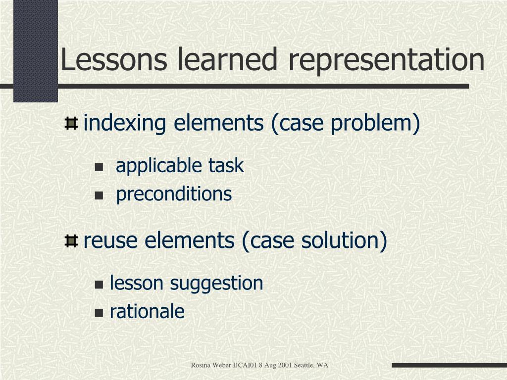 indexing elements (case problem)