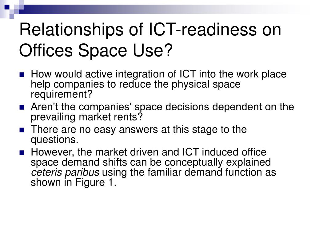 relationship between the use of ict The relationship between human resources and information and communication to examine in depth the relationships between ict and human resources among a group of.