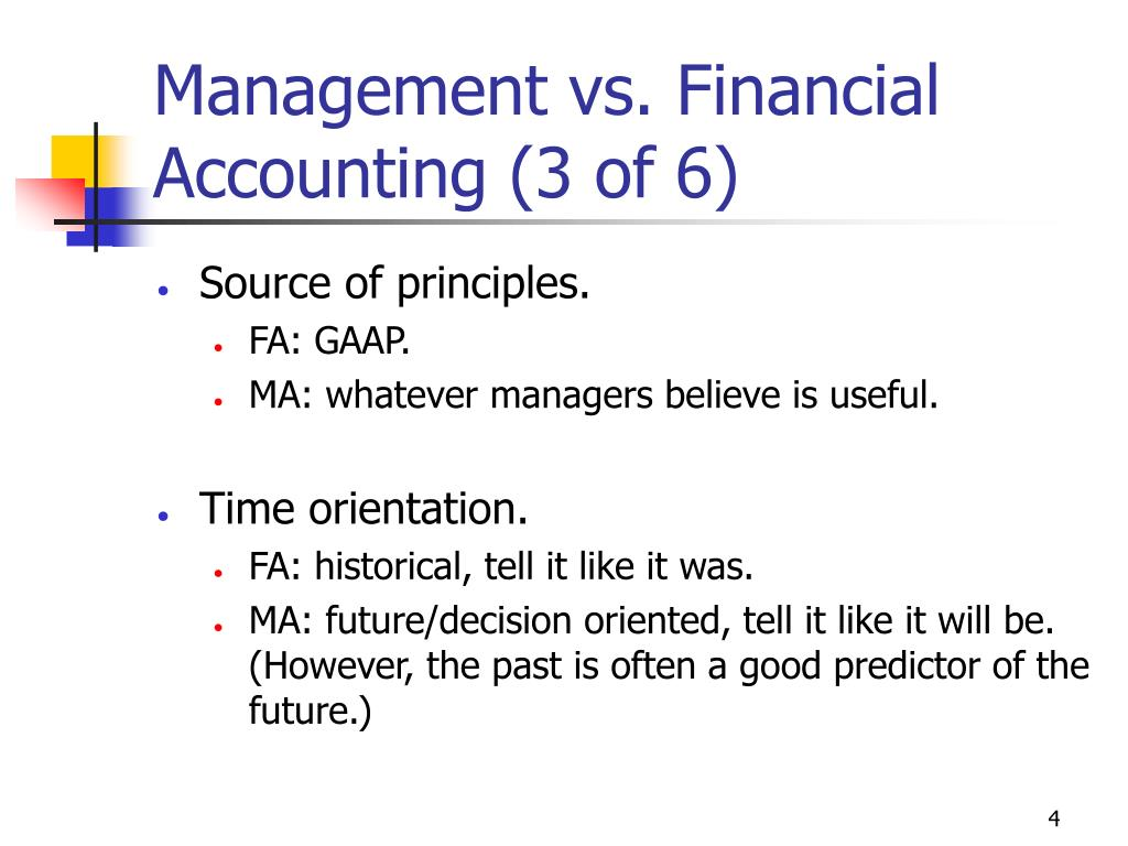 financial accounting versus managerial accounting Financial accounting (or financial accountancy) is the field of accounting concerned with the summary, analysis and reporting of financial transactions pertaining to a.