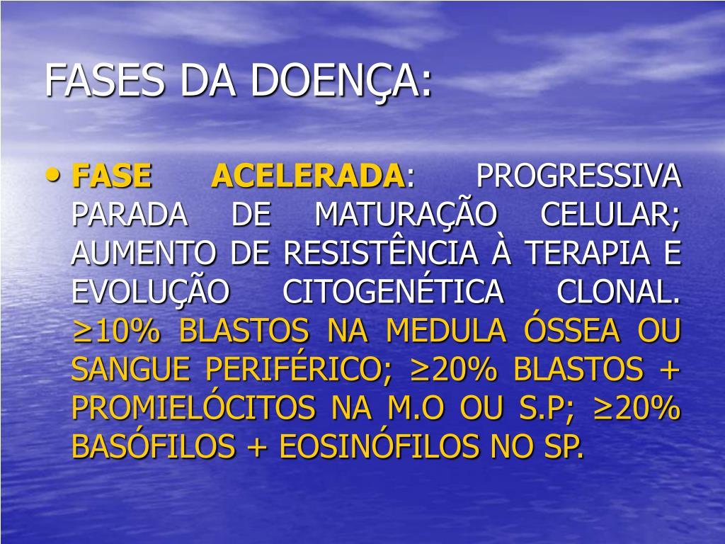 FASES DA DOENÇA: