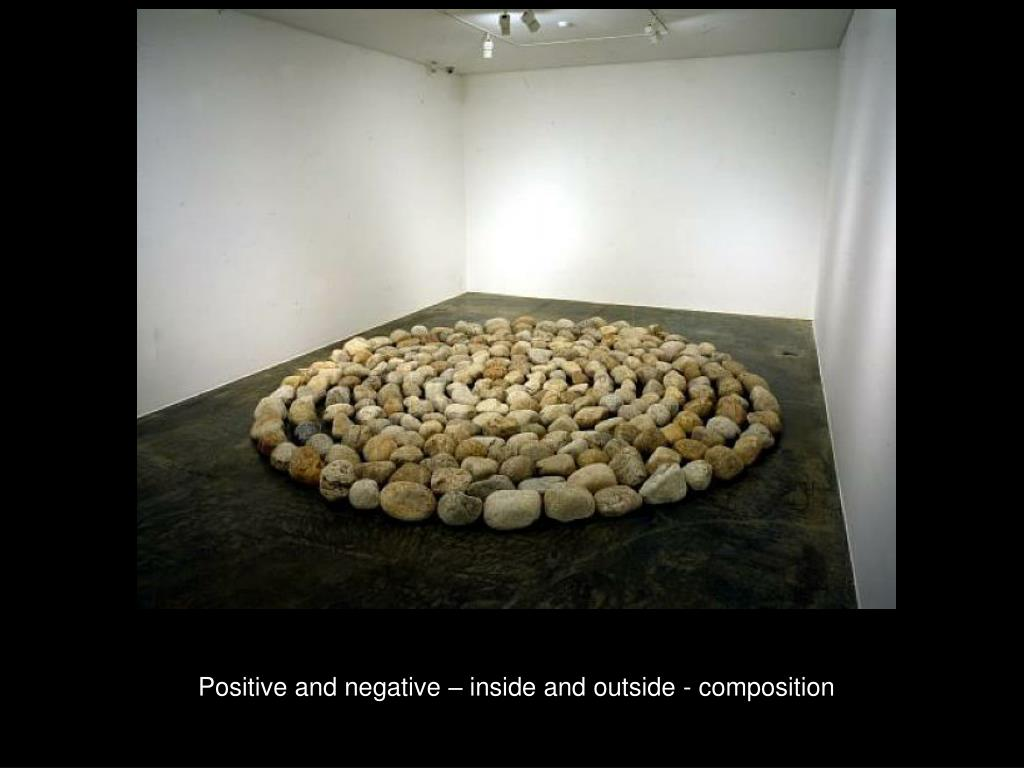 Positive and negative – inside and outside - composition