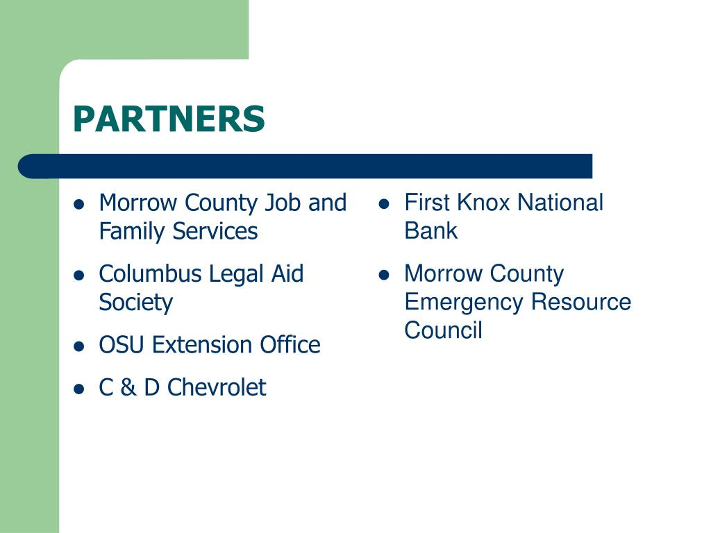 Morrow County Job and Family Services