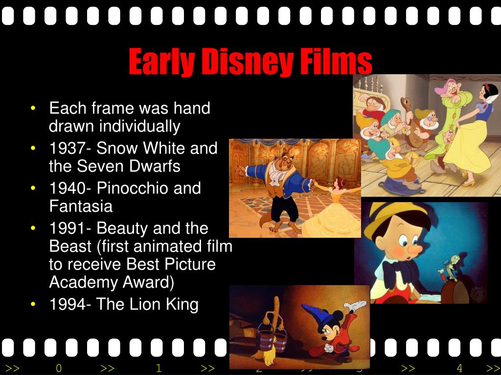 Early Disney Films
