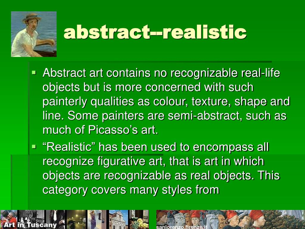 abstract--realistic