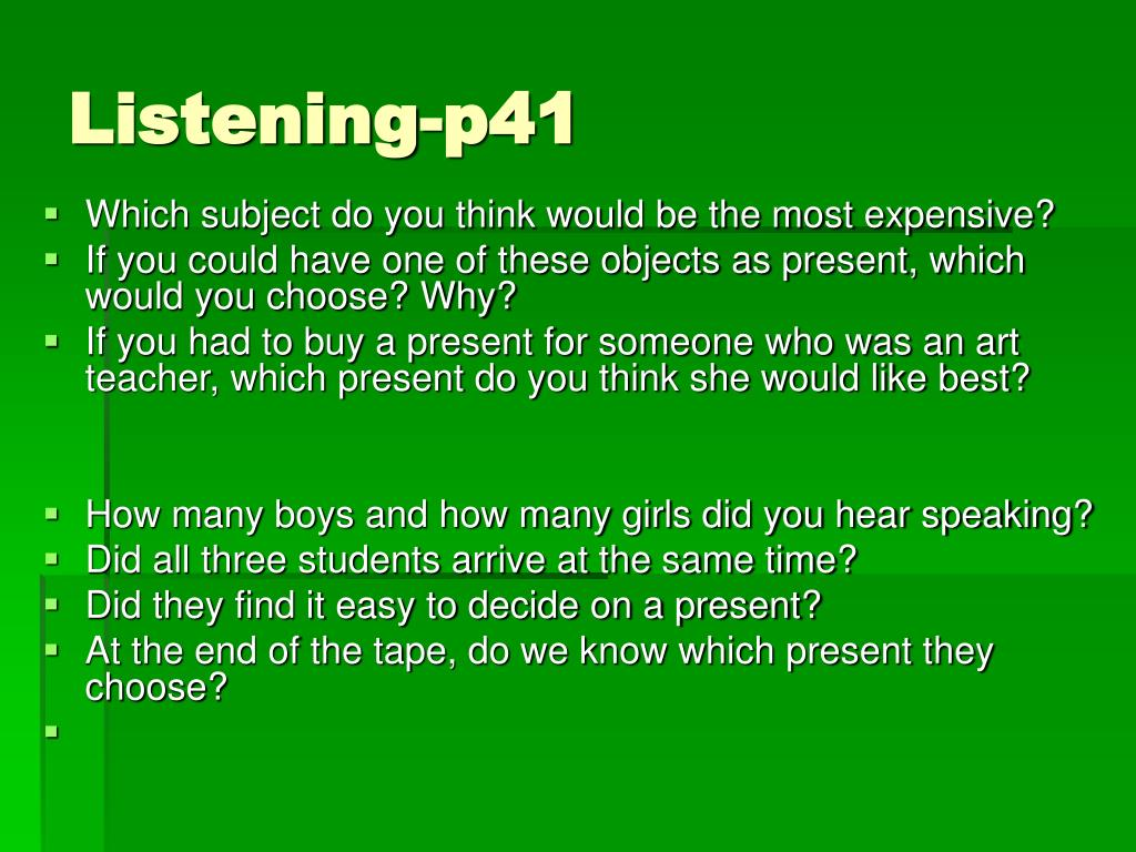 Listening-p41
