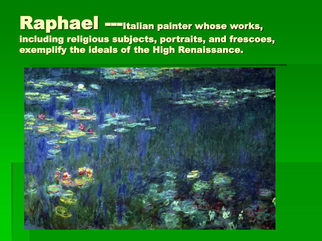 Raphael ---