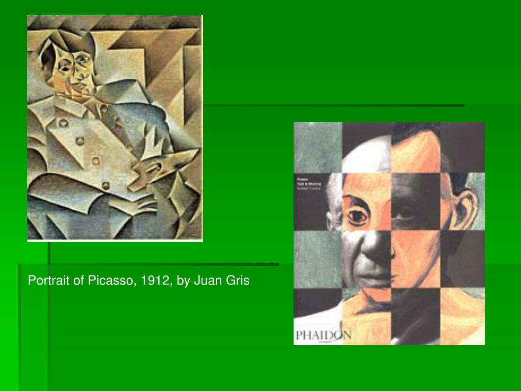 Portrait of Picasso, 1912, by Juan Gris