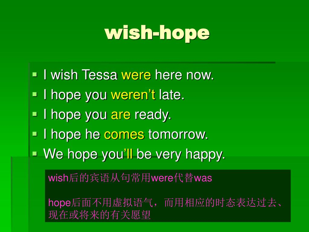 wish-hope