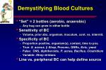 demystifying blood cultures