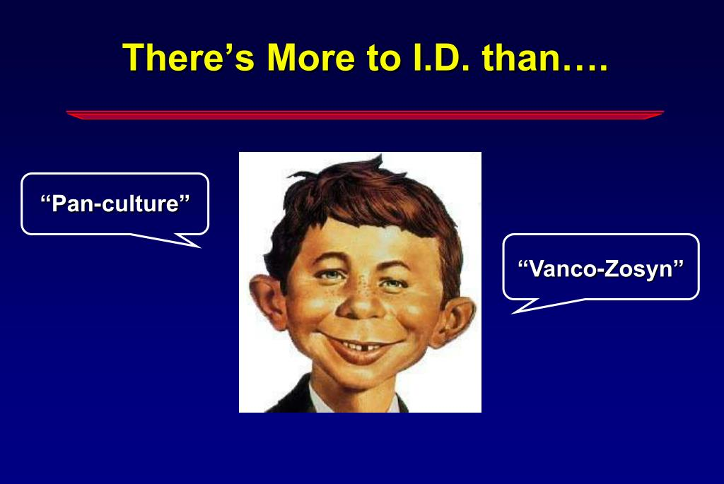 There's More to I.D. than….