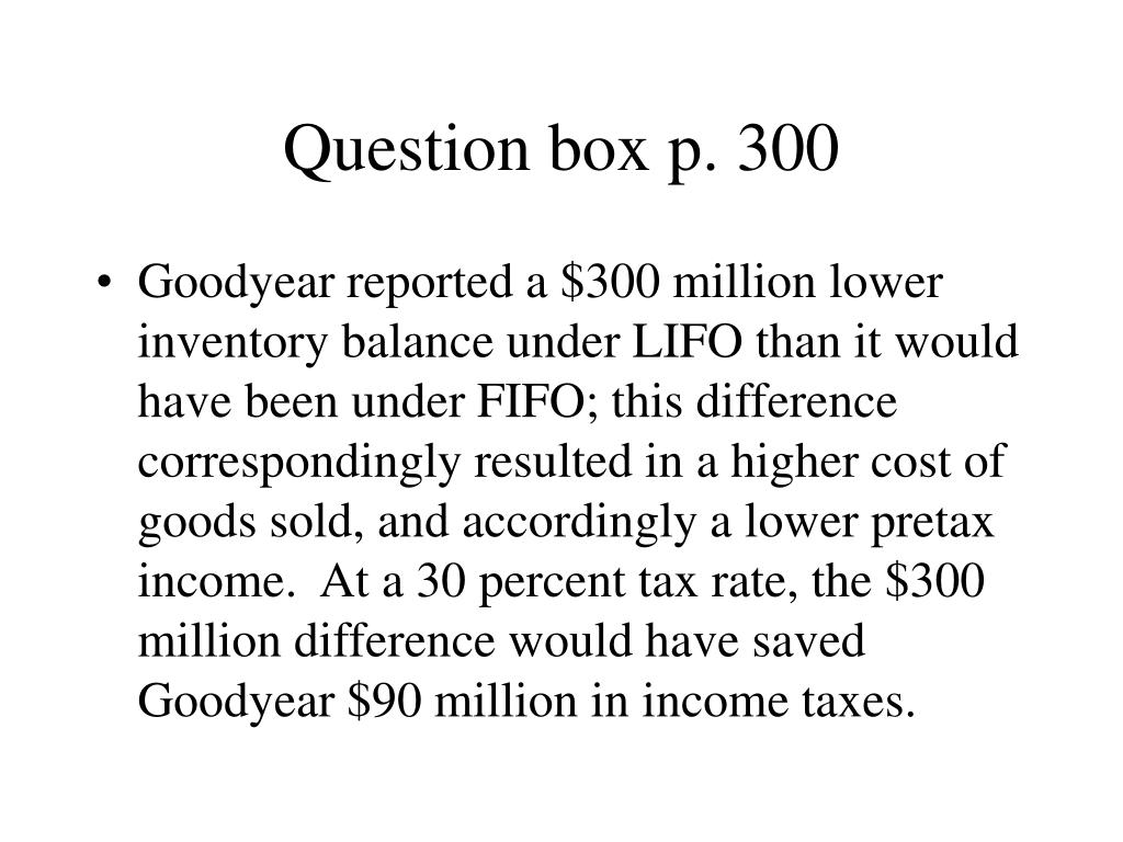 Question box p. 300