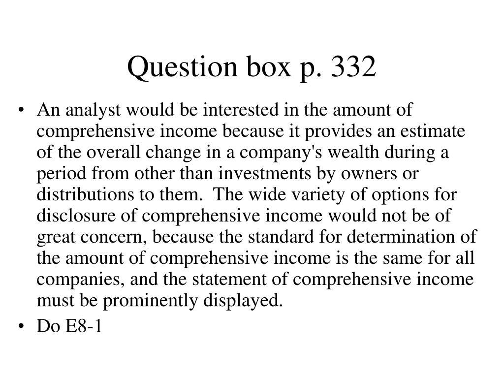 Question box p. 332