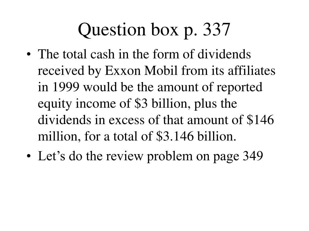 Question box p. 337