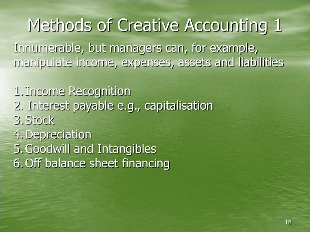 accounting scandals 2 Business scandals are always with us from the south sea bubble to enron and parmalat as accounting forms a central element of any business success or failure, the.